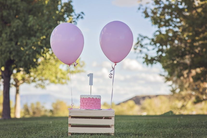 Nasze pierwsze urodziny