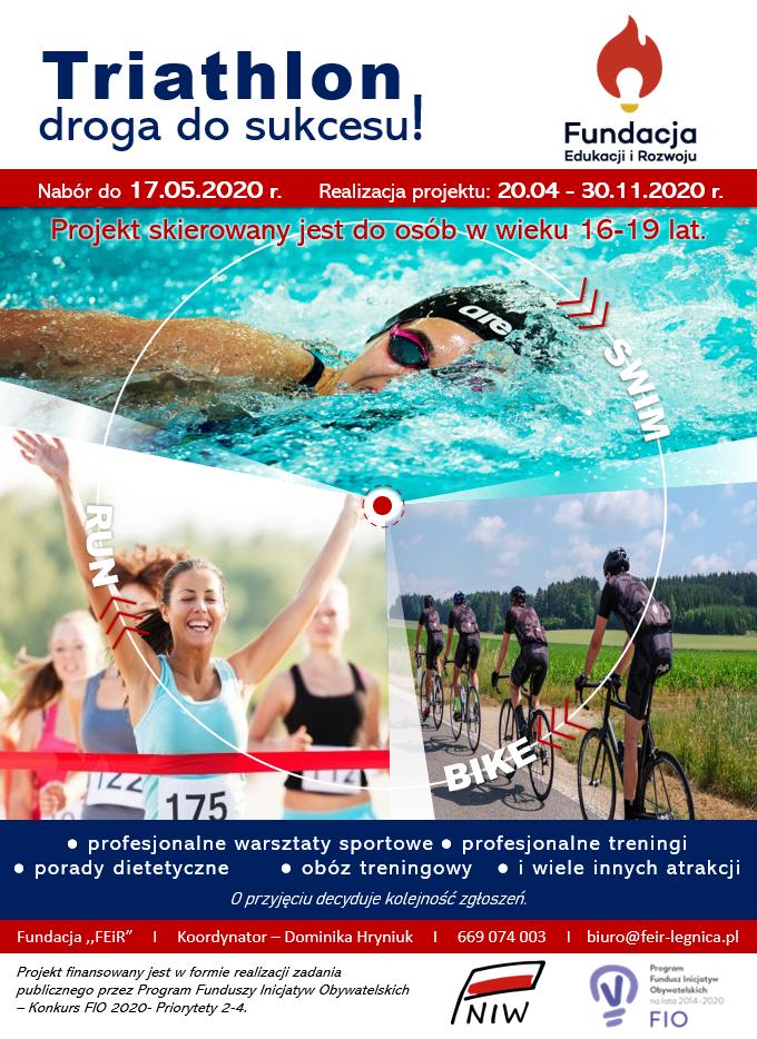 Triathlon-droga do sukcesu!